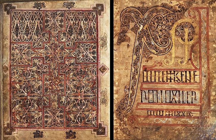 St Chad gospels, Vellum, Lichfield Cathedral, AD 700–800