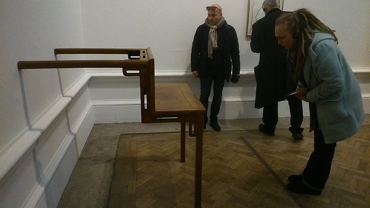 Table with Two Legs on a Wall, 1993