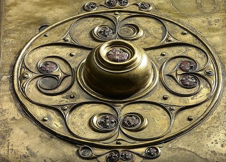 The Battersea Shield, detail, River Thames, 350-50 BC