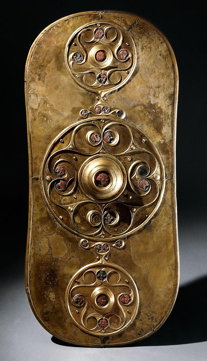 The Battersea Shield, River Thames, 350-50 BC