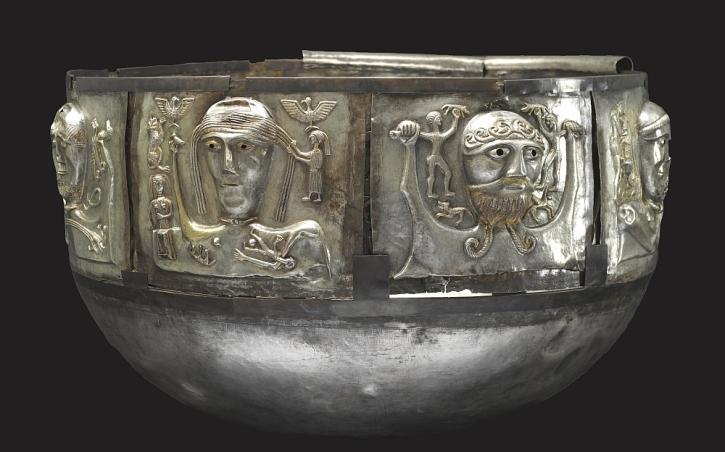 The Gundestrup cauldron, Jutland, Denmark, 150-50 BC