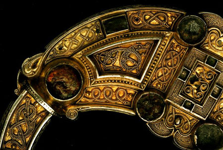 The Hunterston Brooch, detail