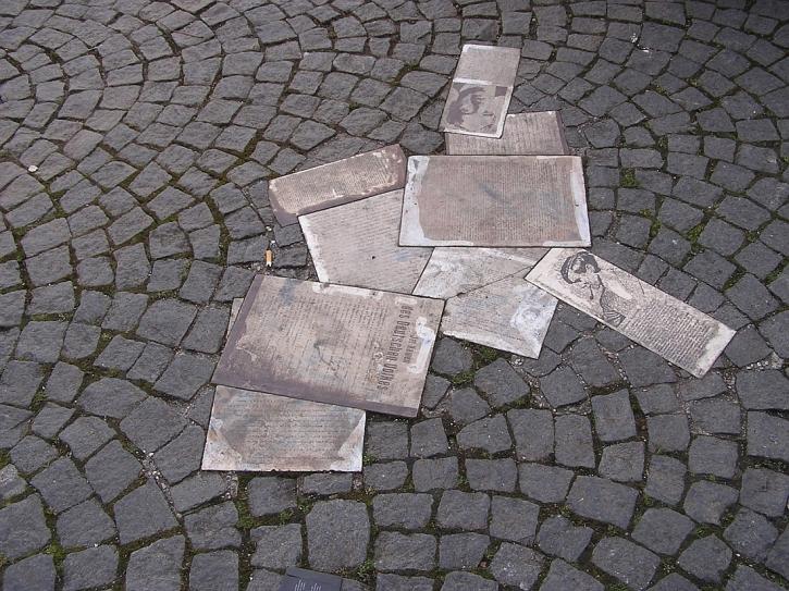 White Rose pavement memorial Munich University