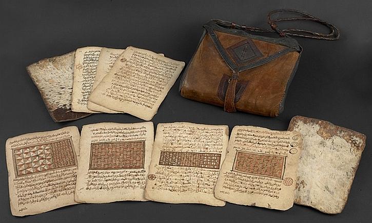 A saddlebag Qur'an