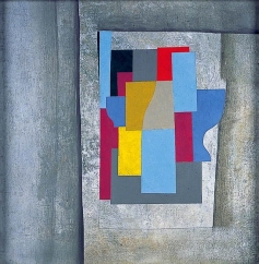 Ben Nicholson, 146 - Cerulean Abstraction