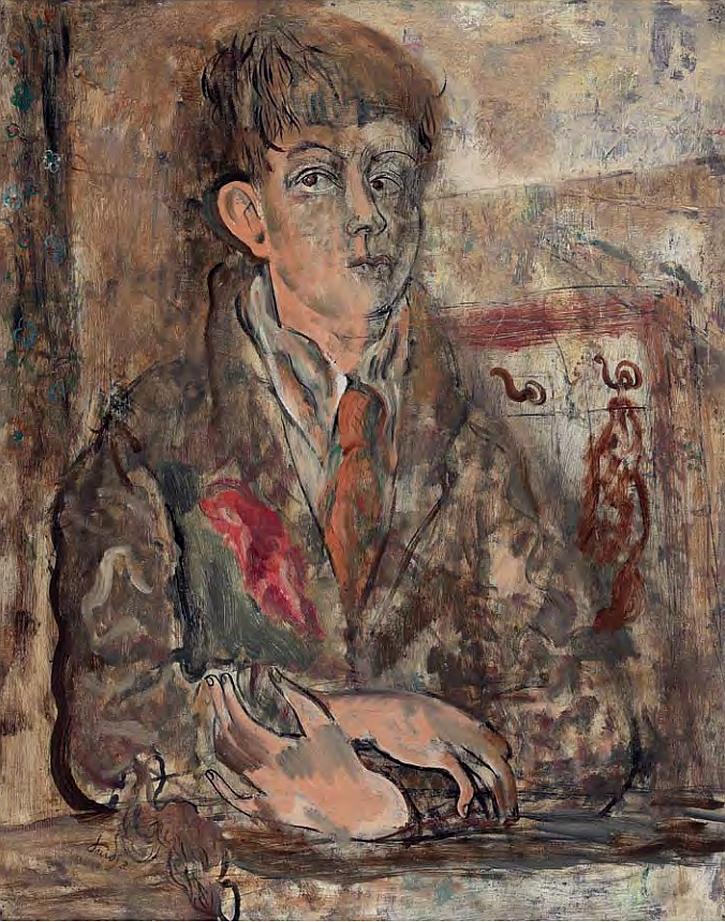 David Jones, Human Being, 1931