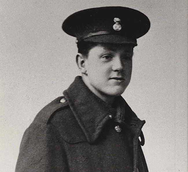 David Jones in uniform