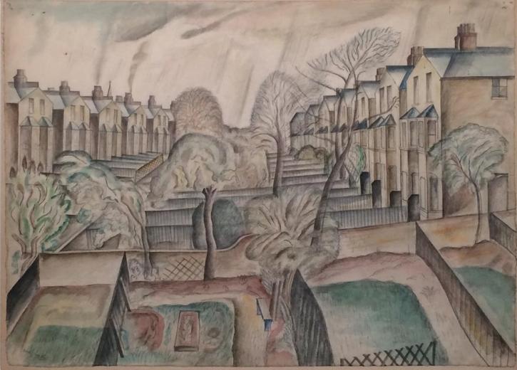 David Jones, Suburban Order, 1926