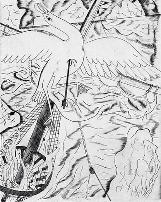 David Jones, The Albatross, 1928