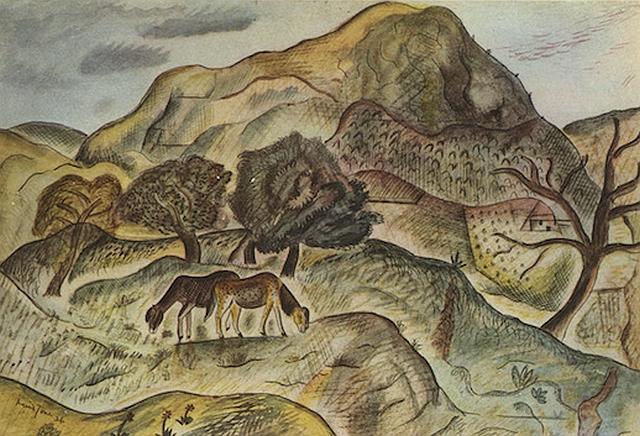Hill Pastures, Capel-y-ffin, 1926