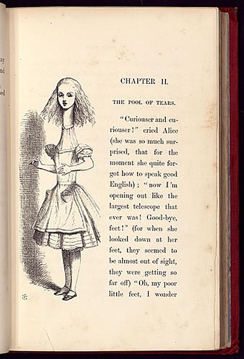 Illustration from Alice's Adventures in Wonderland, John Tenniel, 1865