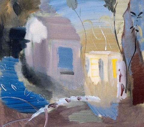Ivon Hitchens, House Among Trees, 1943