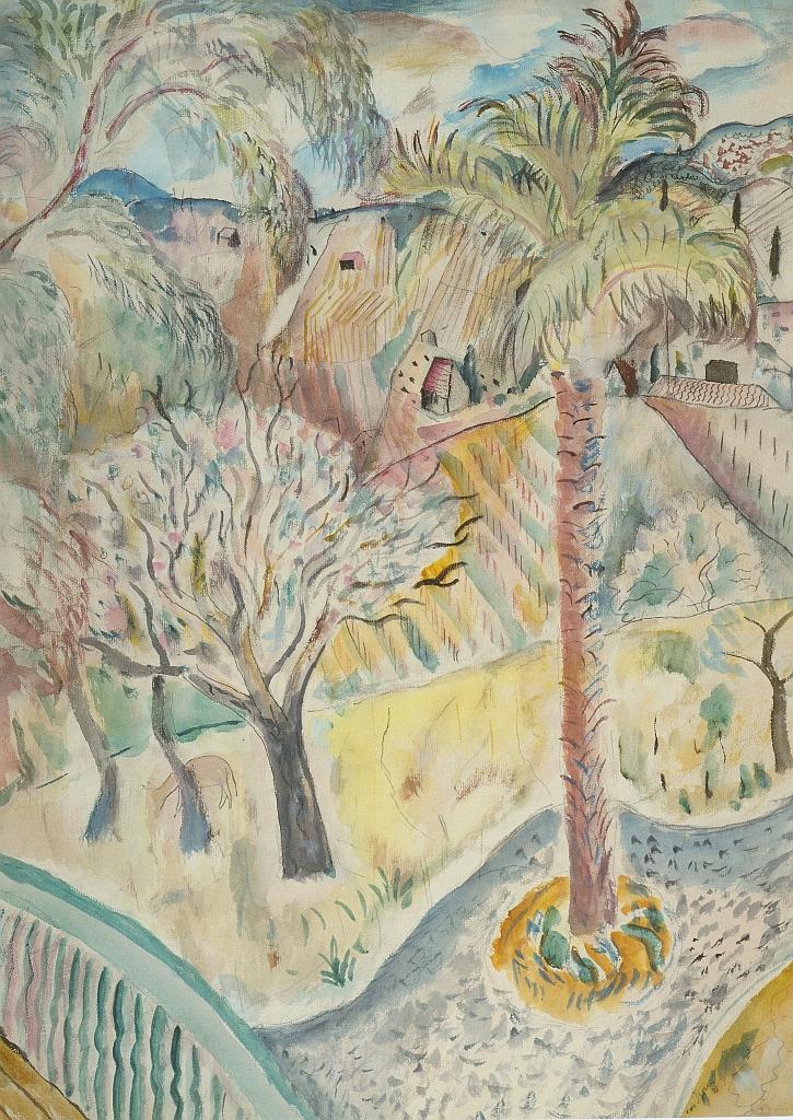 Landscape, Salies-de-Bearn, 1928