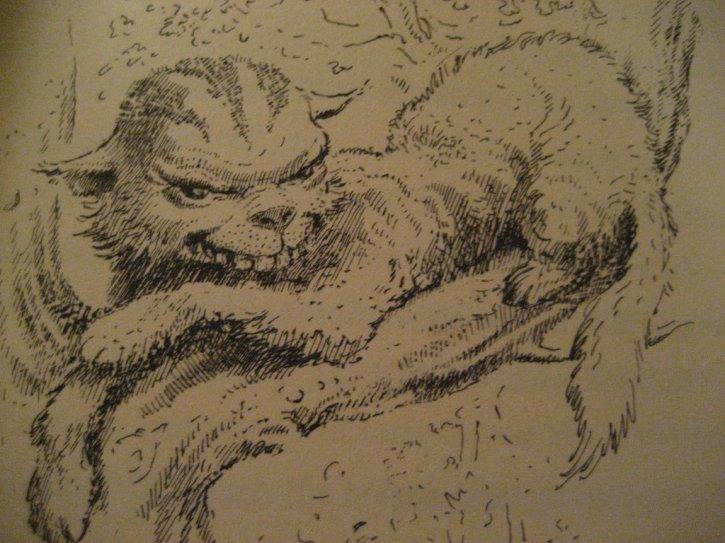 Mervyn Peake, Cheshire Cat, 1946