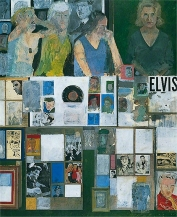 Peter Blake, Girls with their Hero, 1959