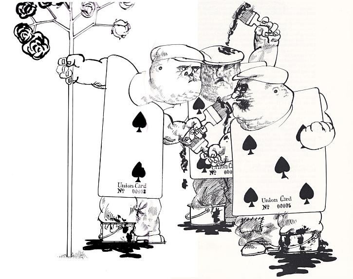 Ralph Steadman, Union Cards, 1972