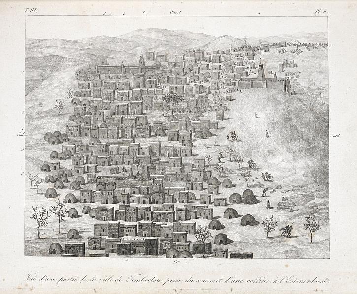 René Caillié, Journal d'un voyage à Temboctou et à Jenné, 1830