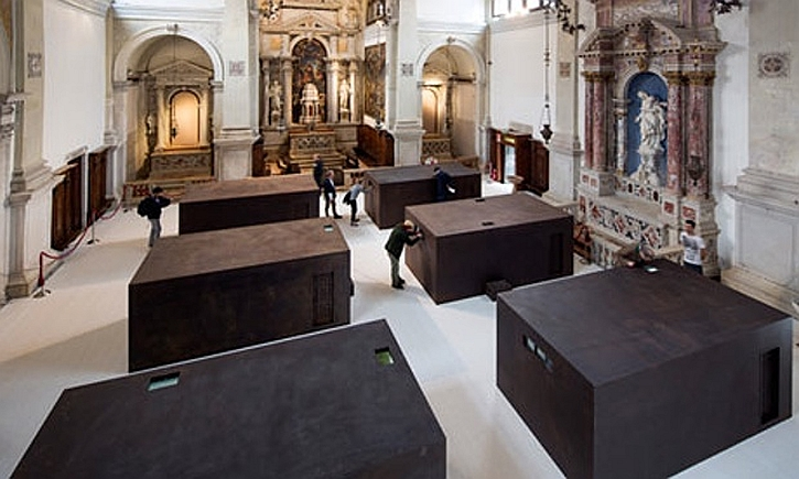 SACRED, inside the church of Sant'Antonin at the Venice Biennnial in 2013
