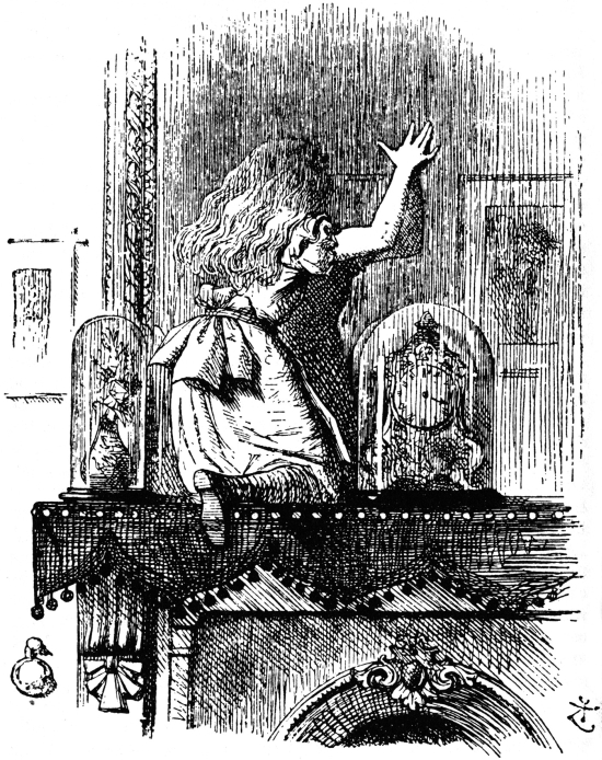 Tenniel, Alice Through the Looking Glass