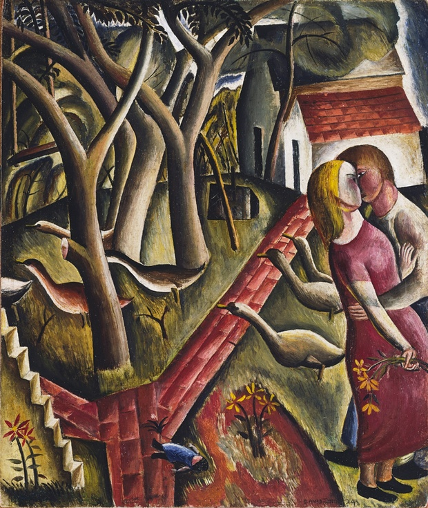 The Garden Enclosed, 1924 by David Jones