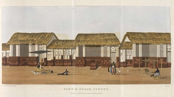 Thomas Edward Bowdich, Mission from Cape Coast Castle to Ashantee, 1819, part of Adoom street