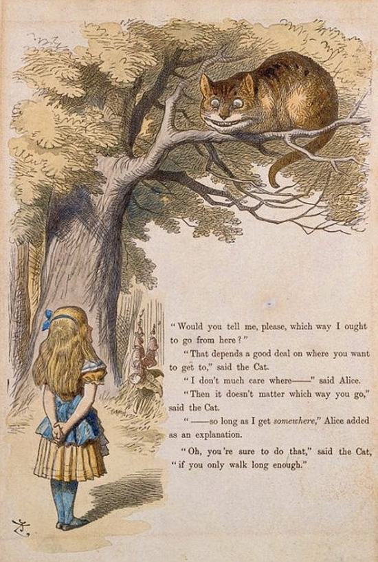 Cheshire Cat, John Tenniel