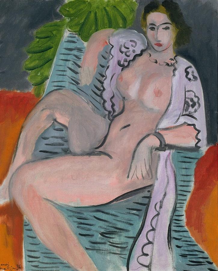 Draped Nude 1936