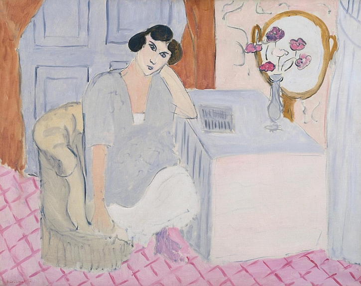 Matisse, The Inattentive Reader, 1919