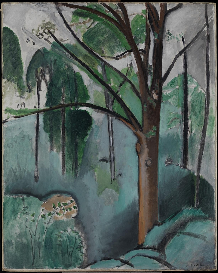 Trivaux Pond 1916 or 1917