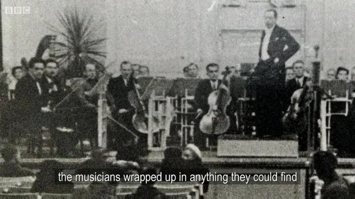 Leningrad seige musicians