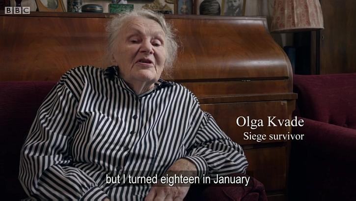 Leningrad seige Olga Kvade