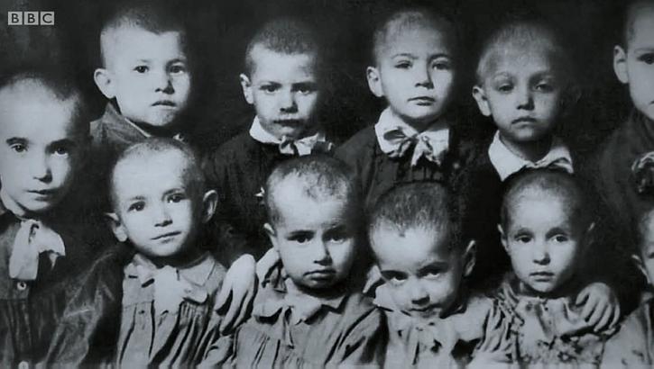 Leningrad seige orphans