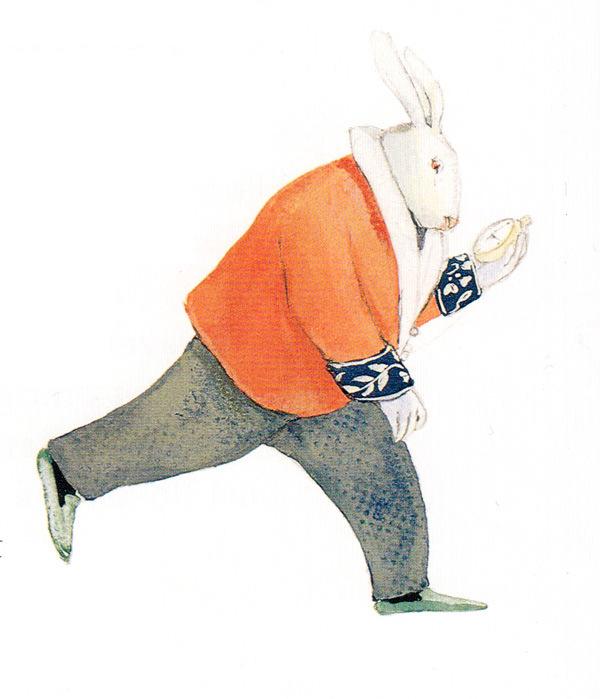 Lisbeth Zwerger, White Rabbit, 1999