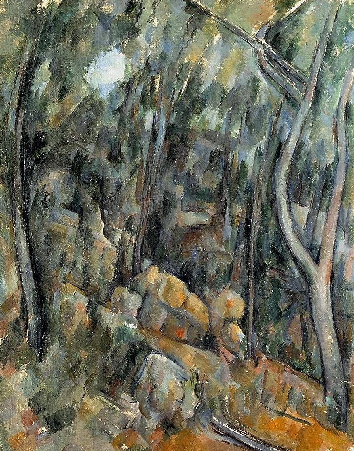 Paul Cézanne The Grounds of the Château Noir c.1900–6