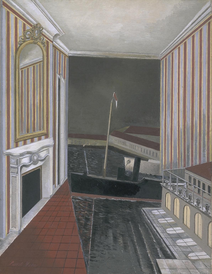 Paul Nash, Harbour and Room 1932-6