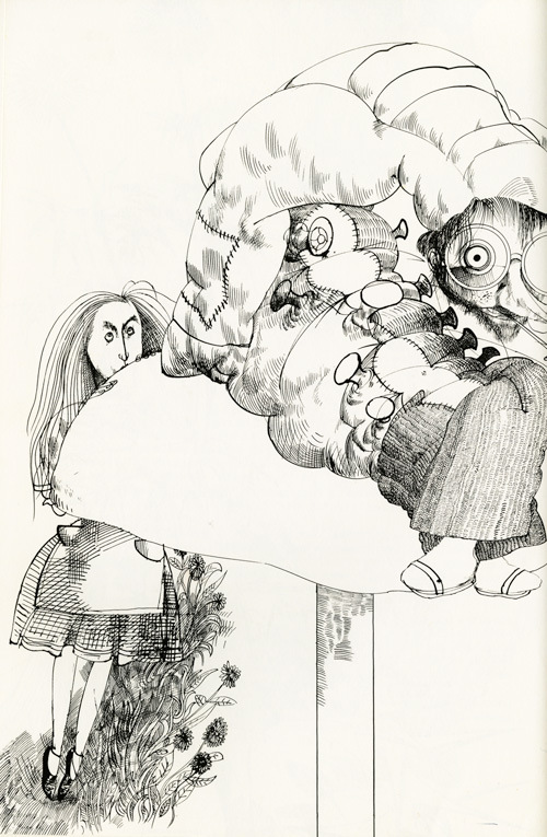 Ralph Steadman,caterpiller, 1972