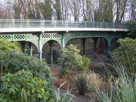 The Iron Bridge, Sefton Park