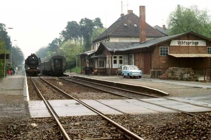 Uchtspringe station in 1991