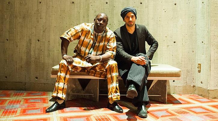 Vieux Farka Touré with pianist Idan Raichel