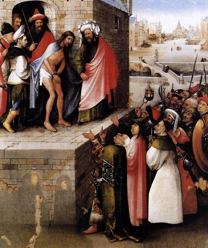 Hieronymus Bosch, Ecce Homo, c1475-85