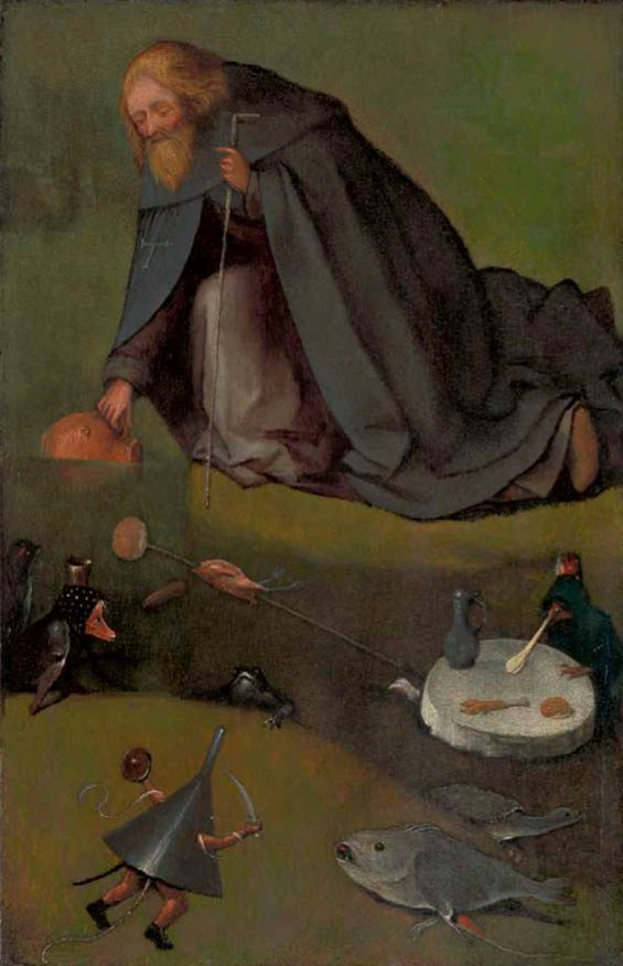 Hieronymus Bosch, The Temptation of St Anthony,
