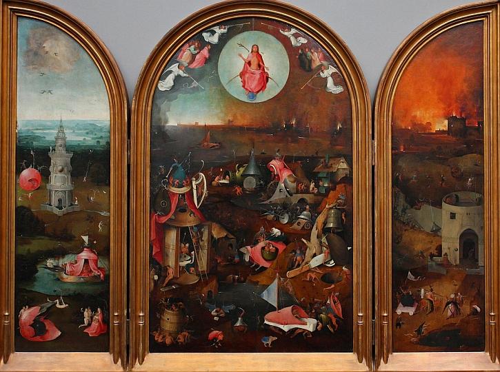 Hieronymus Bosch,The Last Judgement, c1495-1505
