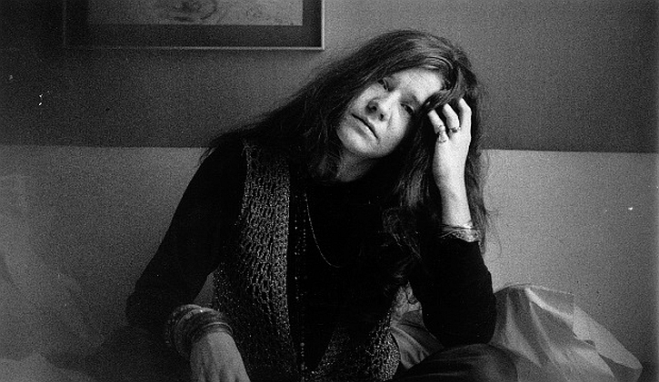 Janis Joplin still from Little Girl Blue