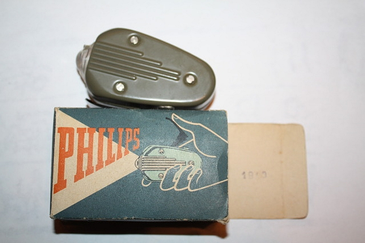 The Phillips Wermacht flashlight produced by prisoners at Vught