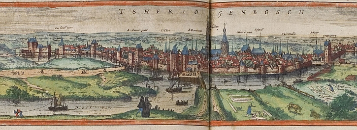 's-Hertogenbosch in the 16th century
