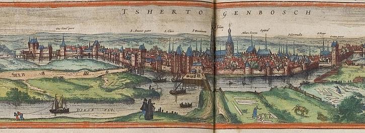 's-Hertogenbosch in the 16th century