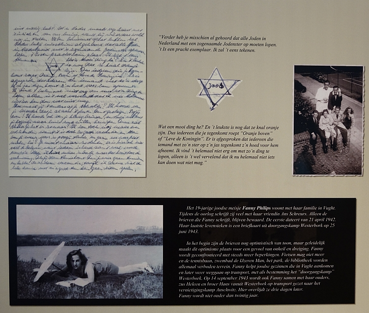 Vught: a display in the permanent exhibition