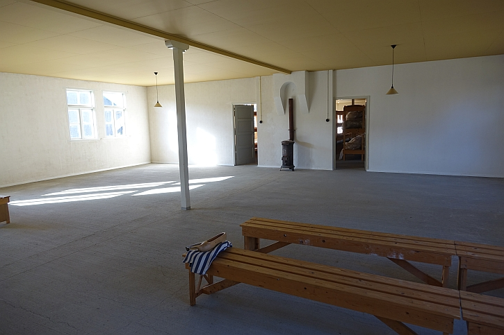 Vugh: inside the reconstructed barracks