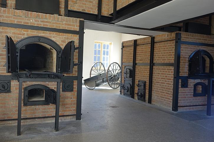 The crematorium at Vught