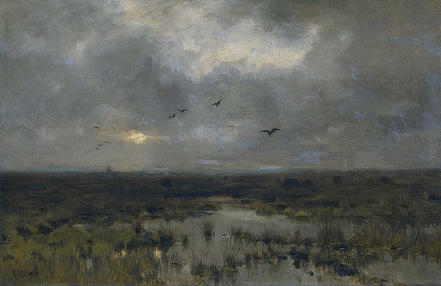 Anton Mauve, The Marsh, 1885